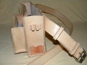 kožená brašna pro řemeslníky
